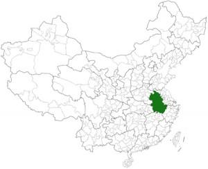 anhui location