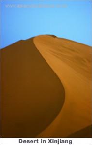 Desert in Xinjiang
