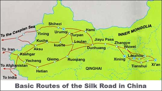 silkroad map