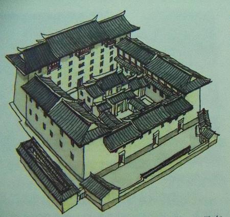 Fujian Tulou, Wufeng lou