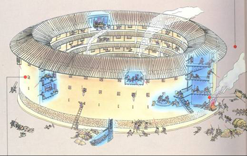 Fujian Tulou, defensive function