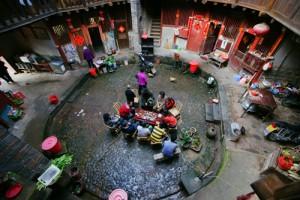 Fujian tulou, rusheng lou