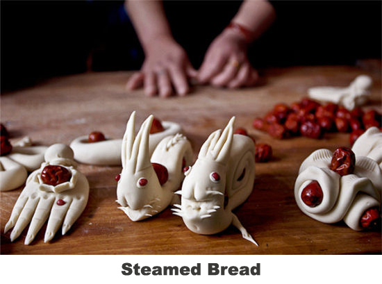 steamed bread