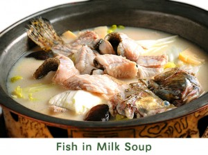 Fish in Milk Soup