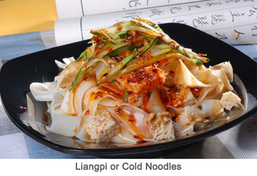 Liangpi or Cold Noodles