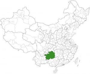 guizhou location