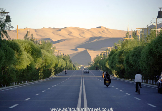 silk road Dunhuang