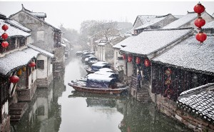 zhouzhuang in the winter