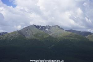 Kanas mountains