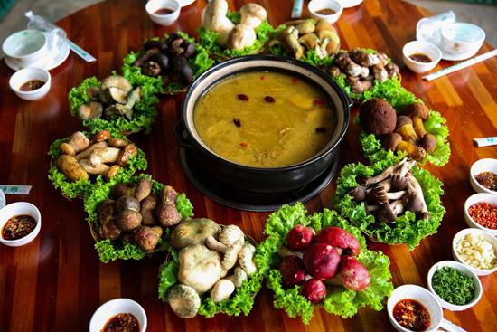 Wild Mushroom Hotpot