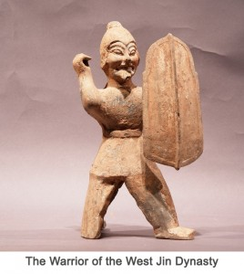 The Warrior of the Western Jin Dynasty