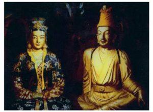 Princess Wencheng and King Songtsän Gampo