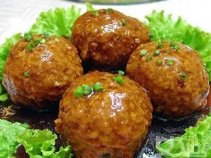 Four-Joy Meatballs
