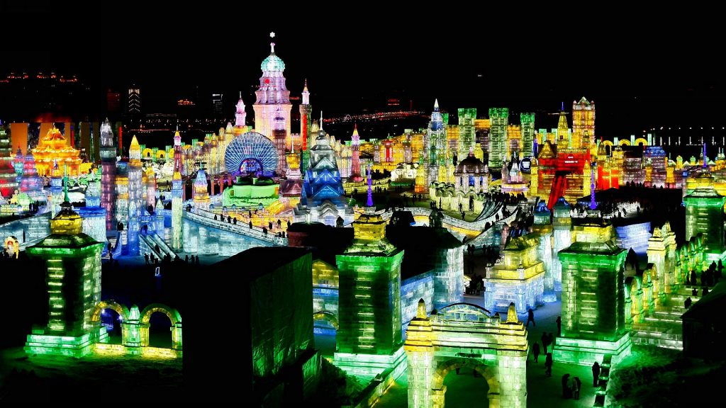 The Harbin Ice Festival 01