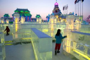 The Harbin Ice Festival 08